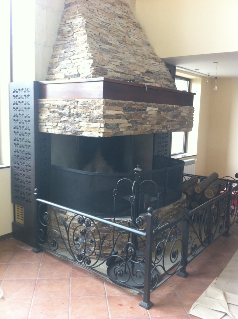 Камина Метал fireplace iron